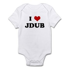 I Love JDUB Infant Bodysuit