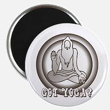 Retro Yoga Magnet