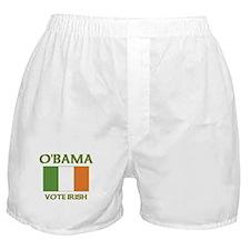 Obama Vote Irish Boxer Shorts