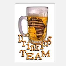 Africa Drinking Team -  Postcards (Package of 8)