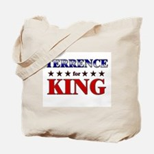 TERRENCE for king Tote Bag