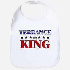 TERRANCE for king Bib