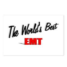 """The World's Best EMT"" Postcards (Package of 8)"