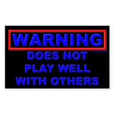 Play well... Decal