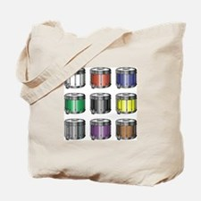 Drum Colors Tote Bag