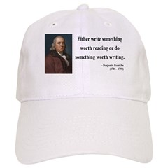 Benjamin Franklin 18 Baseball Cap