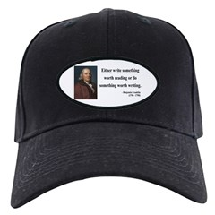 Benjamin Franklin 18 Baseball Hat