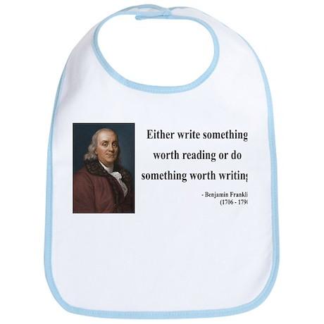 Benjamin Franklin 18 Bib