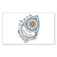Ohana (Family) Rectangle Decal