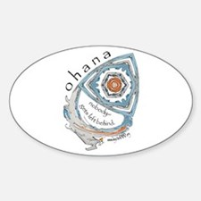 Ohana (Family) Oval Decal