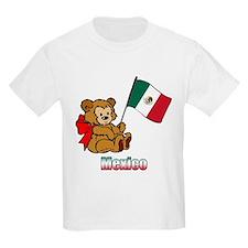 Mexico Teddy Bear T-Shirt