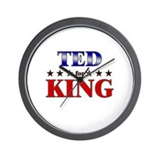 TED for king Wall Clock