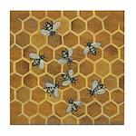 Honey Bees Art Tile