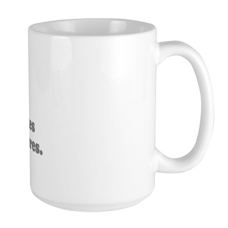 WTD: My camera takes... Large Mug