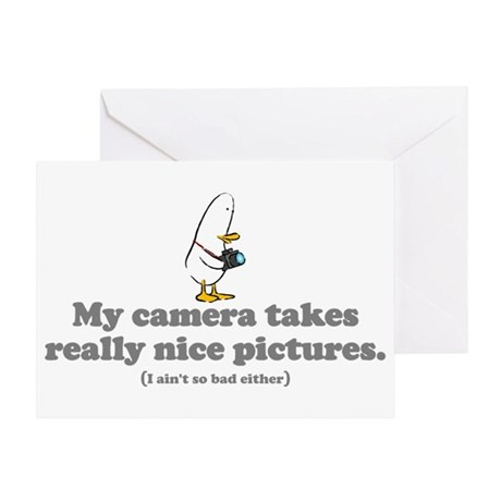 WTD: My camera takes... Greeting Card