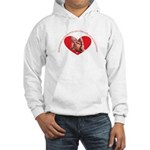 Mothers hold our tiny hands Hooded Sweatshirt