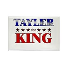 TAYLER for king Rectangle Magnet