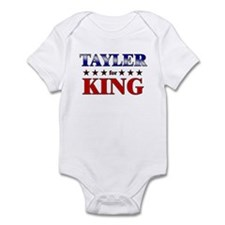 TAYLER for king Infant Bodysuit