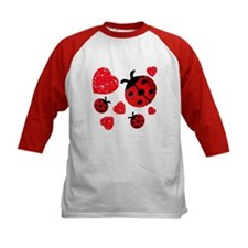 Lady Bugs and Hearts Valentin Tee