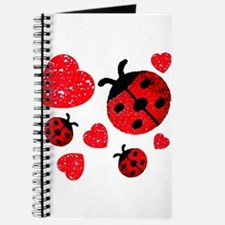 Lady Bugs and Hearts Valentin Journal