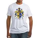 Fugger Family Crest Fitted T-Shirt