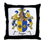 Fugger Family Crest Throw Pillow