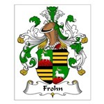 Frohn Family Crest Small Poster