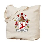 Friedel Family Crest Tote Bag