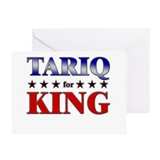 TARIQ for king Greeting Card