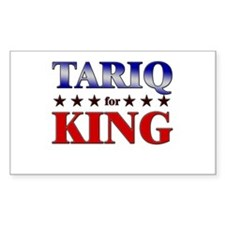 TARIQ for king Rectangle Decal