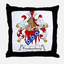 Freudenberg Family Crest Throw Pillow