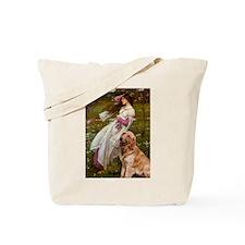 Windflowers & Golden Tote Bag