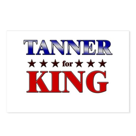 TANNER for king Postcards (Package of 8)
