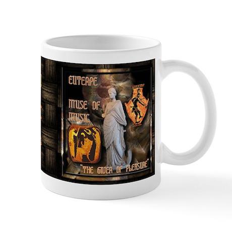 Greek Goddess Euterpe Mug