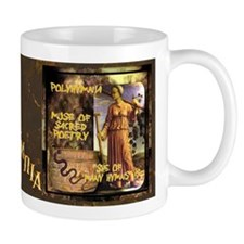 Greek Goddess Polyhymnia Mug