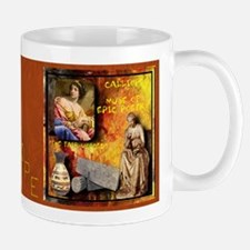 Greek Goddess Calliope Mug