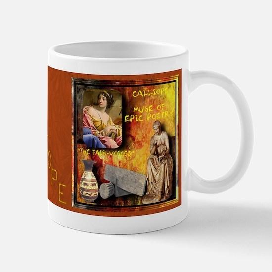 Greek Goddess Calliope Mug