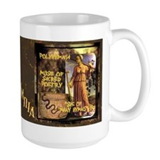 Greek Goddess Polyhymnia Mug