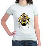 Fragner Family Crest Jr. Ringer T-Shirt