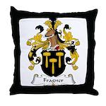 Fragner Family Crest Throw Pillow