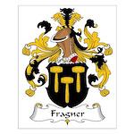 Fragner Family Crest Small Poster