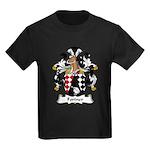 Fortner Family Crest Kids Dark T-Shirt