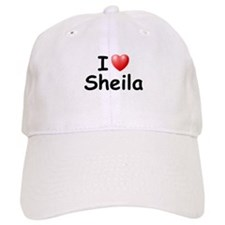 I Love Sheila (Black) Baseball Cap