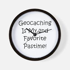 Geocaching - 2nd Favorite Pas Wall Clock