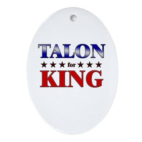 TALON for king Oval Ornament