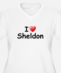 I Love Sheldon (Black) T-Shirt