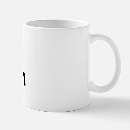 I Love Sheldon (Black) Mug