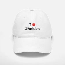 I Love Sheldon (Black) Baseball Baseball Cap