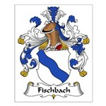 Fischbach Family Crest Small Poster