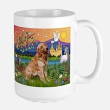 Fantasy Land Golden Large Mug